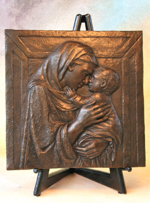 Donetello's Madonna Bas Relief by Annette Everett