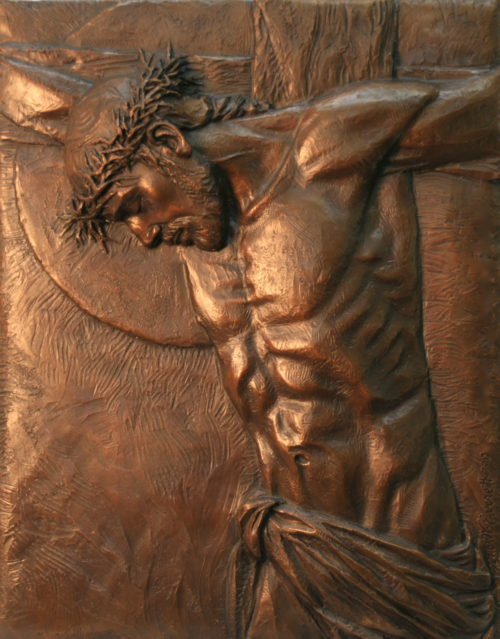The Gift Bas Relief by Annette Everett